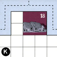 Tile K not rotated